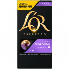 Кофе В Капсулах L'OR Espresso Lungo Profondo (10 Капс.)