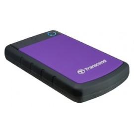 Внешний HDD Transcend StoreJet 25H3P 2 TB, черный/фиолетовый